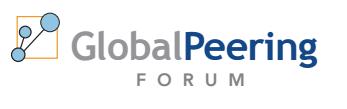 Logo Global Peering Forum